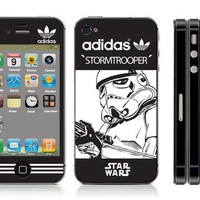 Free shipping vinyl decal stickers for iPhone 4 / iPhone 4S cover #0572