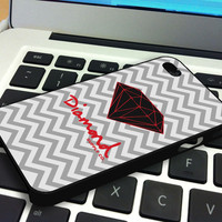 Chevron Red Diamond Supply Co Iphone 4 Case  Iphone 4S Case