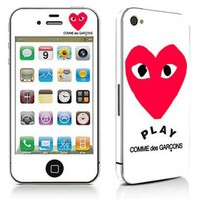 Free shipping vinyl decal stickers for iPhone 4 / iPhone 4S cover #0580
