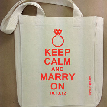 Keep Calm And Marry On by PamelaFugateDesigns