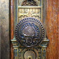 16x20 LDS Temple-SLC door knob