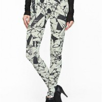 Folded Paper Printed Leggings by Youreyeslie.com Online store> Shop the collection