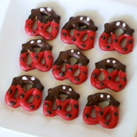 Chocolate Covered Ladybug Pretzels 2 dozen by TheSassySewer
