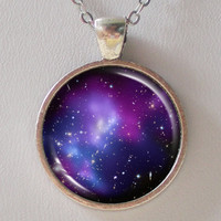 Galaxy Necklace  Galaxy Cluster MACS J0717  Galaxy by FantasticDIY