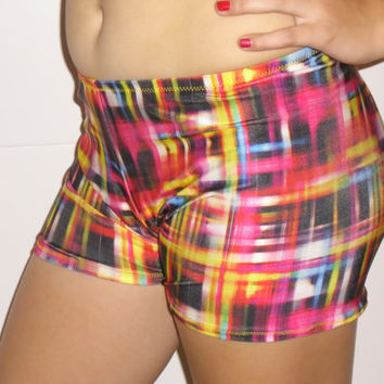 Spandex shorts, any size, bright colored
