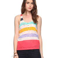 Colorblocked Burnout Tank | FOREVER21 - 2000034401