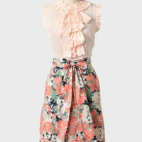 honeycut floral dress at ShopRuche.com