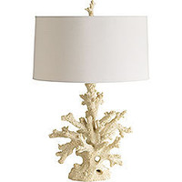 Pier 1 Imports - Coral Lamp