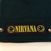NIRVANA BEANIE HAT studded or unstudded - 6 colours