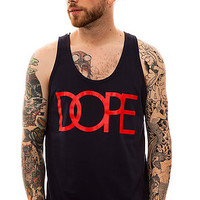DOPE The Classic Logo Tank in Navy : Karmaloop.com - Global Concrete Culture