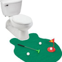 Amazon.com: EZ Drinker Toilet Golf - Putter Practice in the Bathroom Toy with this Potty Putter: Sports & Outdoors