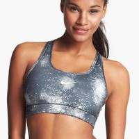 Nike &#x27;Pro&#x27; Print Compression Bra | Nordstrom
