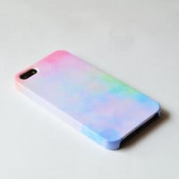 Pastel iphone 5 case , sweet iPhone case , cute iphone 5 case, Hard plastic case , iphone 5 cover