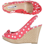 Payless, Women's Sweetheart High Wedge Sling, Women's
