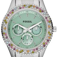 Fossil Stella Stainless Steel Watch: Watches: Amazon.com