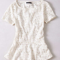 Anthropologie - Netted Stanza Top