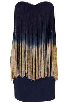Fringe Bandeau Dress by Rare** - Dresses - Clothing - Topshop