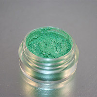 Eye Shadow Mineral Makeup Mermaid Green by greenbubbleshome