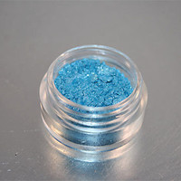 Eye Shadow Mineral Makeup Ocean Turquoise by greenbubbleshome