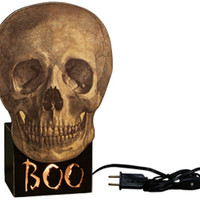NEW Boo Skull Light Box