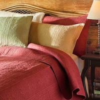 Solid Cotton Quilts - Plow & Hearth