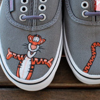 Tigger Vans by BStreetShoes on Etsy