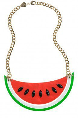 Melon Large Necklace - watermelon  - Spring/Summer 2012 - By collection - By product - Shop