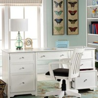 Oxford Executive Desk - Computer Desks -  Home Office Furniture -  Furniture | HomeDecorators.com