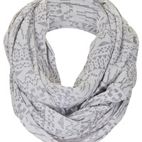 Geo Burnout Snood - Scarves - Bags &amp; Accessories - Topshop USA