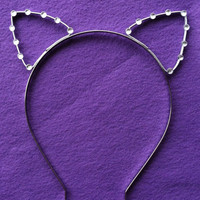 "Taylor Swift ""22"" Music Video Cat Ear Headband With Rhinestones"