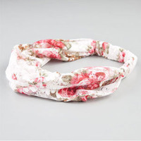 FULL TILT Floral Lace Headband