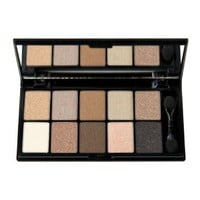 NYX Cosmetics Eye Shadow Palette 10 Color, Caviar and Bubbles, 0.49 Ounce: Beauty