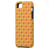 Dots earth tone iPhone 5 cases from Zazzle.com