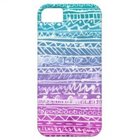 Pastel Ombre Aztec iPhone 5 Covers from Zazzle.com