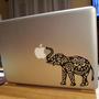 Elephant Laptop Decal by ShepStuff on Etsy