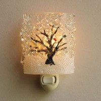 Wintry Birch Tree Nightlight