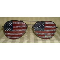 American Flag Aviator Sunglasses Glasses: Everything Else