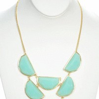 Top Tier Necklace in Mint - New Arrivals