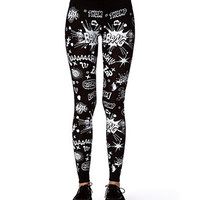 Comic Graphic Leggings