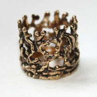 Unearthed Crown Ring
