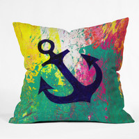 DENY Designs Home Accessories | Sophia Buddenhagen Anchor Throw Pillow