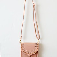 Rocking It This Summer Crossbody Bag, Blush