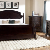 Idyllwild Queen Size Panel Bed