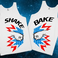Shake And Bake - Skreened T-shirts, Organic Shirts, Hoodies, Kids Tees, Baby One-Pieces and Tote Bags Custom T-Shirts, Organic Shirts, Hoodies, Novelty Gifts, Kids Apparel, Baby One-Pieces | Skreened - Ethical Custom Apparel