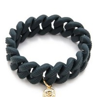 Marc by Marc Jacobs Lizard Embossed Rubber Katie Bracelet | SHOPBOP Save 20% with Code WEAREFAMILY13