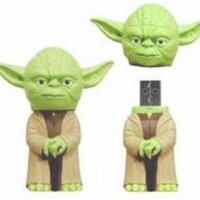 ROCKWORLDEAST - Star Wars, USB Flash Drive, Yoda