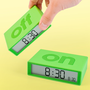 Flip Alarm CLock at Firebox.com