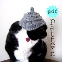PDF Knitting Pattern Frolicsome Cat Hat