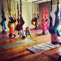 Aerial Yoga Hammock - Aerial (Unnata) Yoga or Antigravity Yoga, TRX & Inversion Therapy