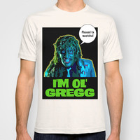 Old Gregg T-shirt by Douglas Simonson